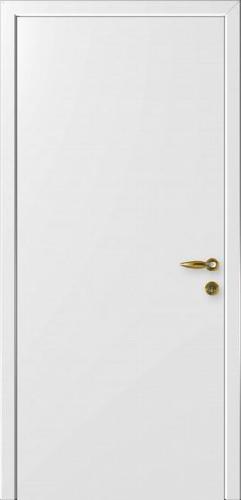 """Дверь влагостойкая композитная гладкая """"Капель"""" (белая)"""