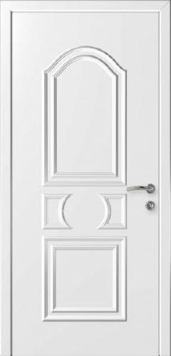 """Дверь влагостойкая композитная """"Капель (Kapelli)"""" """"Нарцисс"""" (белая)"""