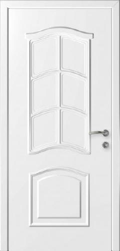 """Дверь влагостойкая композитная """"Капель (Kapelli)"""" """"Лилия"""" (белая)"""