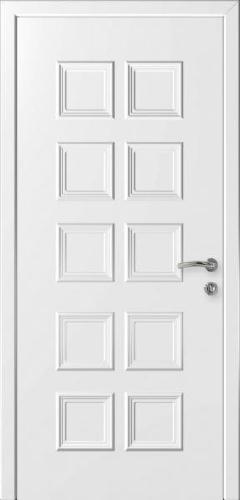 """Дверь влагостойкая композитная """"Капель (Kapelli)"""" """"Акация"""" (белая)"""