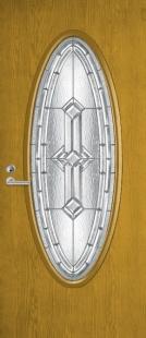 Двери FennoDoors входные серия DECOR арт.2C00 AUR2057 стр.проем 900 х 2100 мм