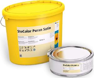 Краска StoСolor Puran Satin для операционных, стерильных и чистых помещений 16,5 кг