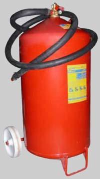 Огнетушитель порошковый ОП-100(з)