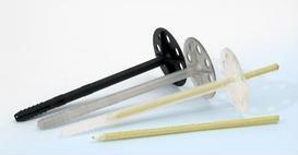 Дюбель-гвоздь Thermosave. Крепление теплоизоляции в штукатурных и навесных фасадах
