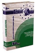 Литой бетон ( ровнитель пола ) М 250 /30 кг / ЕВРОМИКС