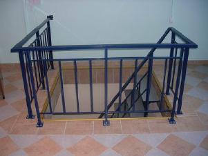 Лестничные ограждения стальные