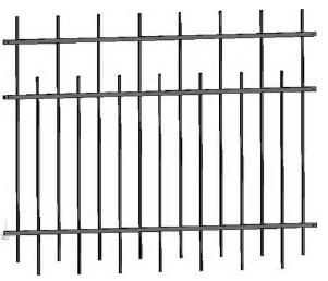 Секция заборная 2,5х2м
