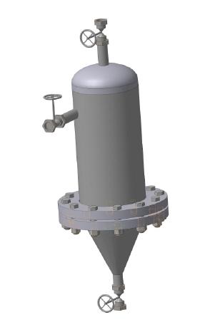 Вихревой фильтр - сепаратор Ду-25 Ру 10