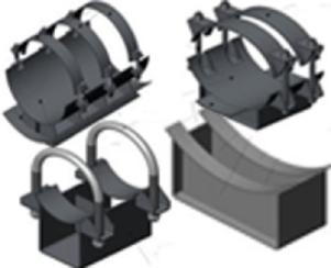 Опоры трубопроводов ОСТ 36-94-83
