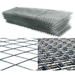 Сетка арматурная,кладочная яч.100*100 мм,различной толщины ,карта:ширина 1м,длина 3 м и другие виды сеток