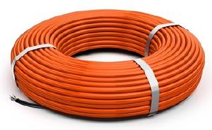 Секция электрическая резистивная греющая кабельная 40КДБС-10 для прогрева бетона без трансформатора