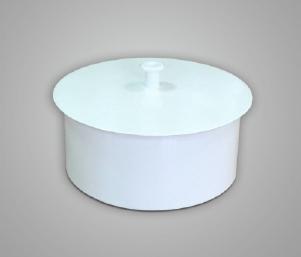 Заглушка, сталь, эмаль, диаметр 100мм