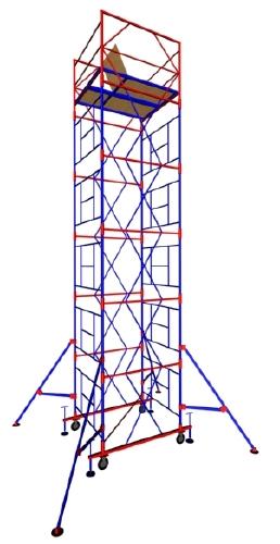 Вышка тур МЕГА-5 на высоту 12,3 метра от завода мега г. Санкт-Петербург. Аренда.Продажа