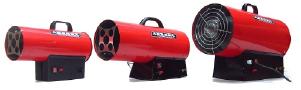 Пушка газовая теплогенератор на газу пропан/бутан с болона на 50кВт мощности