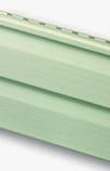 Сайдинг виниловый салатовый альта-профиль (панель сайдинга- стандартная коллекция), двухпереломная 3,66х0,23х1,2мм
