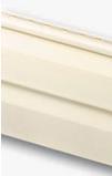 Сайдинг виниловый кремовый альта-профиль стандартная коллекция), двухпереломная 3,66х0,23х1,2мм