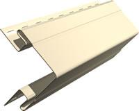 Сайдинг альта-профиль угол наружный - 3,05м цвет: белая/цветная