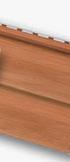 """Виниловый сайдинг альта-профиль цвет дуб светлый. Коллекция премиум """"КАНАДА+"""". Двухпереломная 3,66х0,23х1,2мм (0,84кв.м)"""