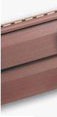 """Виниловый сайдинг альта-профиль, светло-коричневый, коллекция престиж """"КА-НА-ДА+"""", двухпереломная 3,66х0,23х1,2мм (0,84кв.м)"""