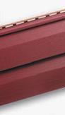Сайдинг виниловый красный альта-профиль
