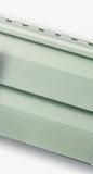 Сайдинг виниловый серо-зеленый альта-профиль