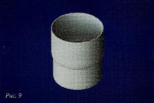 Водостоки пластиковые муфта трубы пвх белая/коричневая