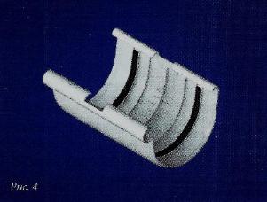 Водосточные системы из пластика муфта желоба пвх белая/коричневая