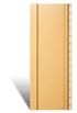 Вертикальный сайдинг желтый металлик-Funky акриловый