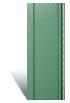 Вертикальный сайдинг зеленый металлик-Jungle акриловый