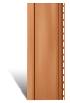 Вертикальный сайдинг коричневый металлик-Folk акриловый