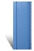 Вертикальный сайдинг синий металлик-Disco акриловый