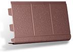 Откос универсальный коричневый - Цокольный сайдинг альта-профиль,альта-декор