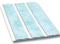 Пластиковая вагонка голубая 241 3,0х0,24м трехсекционная