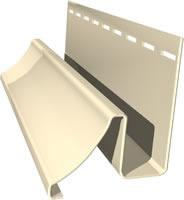Плака виниловый сайдинг альта-профиль окантовочная 3,05м белая/цветная