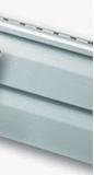 Панель сайдинг светло-серый, стандартная коллекция, двухпереломная 3,66х0,23х1,2мм