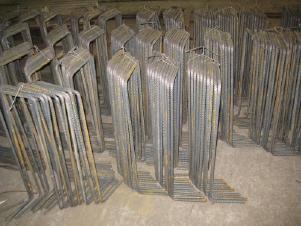 Фиксатор для защитного слоя арматуры Лягушка (плита 300 д.12)