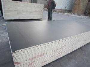 Фанера ламинированная 2440*1220 18мм (Китай)