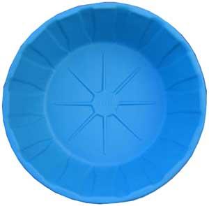 Декоративный цветной пластиковый садовый пруд 460л. Цвет: Синий.