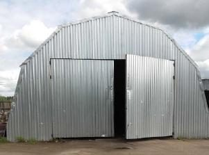 Арочный ангар, утепленный, размер 18х54х9 м