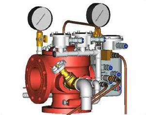 Узел управления с комбинированным приводом взрывозащищенный УУ-Д100/1,6(Р, Э12,Э24, 220, Г0,07)-ВФ.УЗ.1
