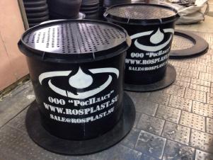 Патрон фильтрации ливневых стоков РП Ду-1430 мм Н-900 мм Q-24 л/с