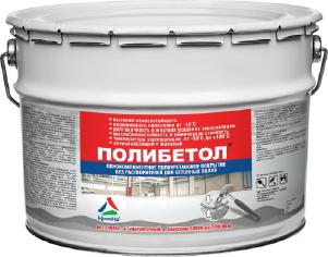 Полибетол - полиуретановая эмаль для бетонных полов (без запаха и растворителей). Тара 12кг