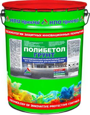 Полибетол-Грунт - полиуретановый грунт для бетонных полов (без запаха). Тара 20кг