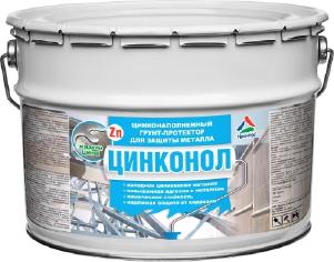 Цинконол - холодное цинкование металла. Тара 24кг