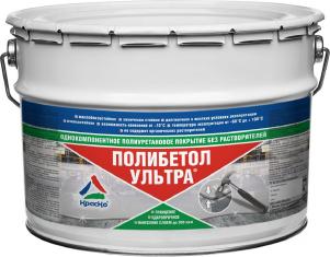 Полибетол-Ультра - полиуретановая эмаль для бетонных полов без запаха (глянцевая). Тара 12кг