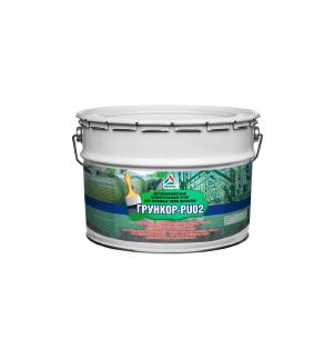 Грункор-PU02 – двухкомпонентный полиуретановый грунт для металла, 12кг