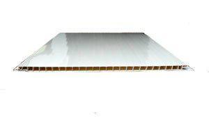 Панель ПВХ Белый лак 375х3000мм. офсетная печать
