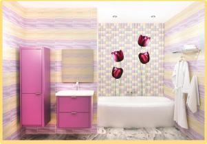 Декоративная панель VENTA Exclusive «Магические тюльпаны»