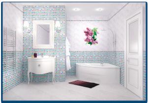 Декоративная панель VENTA Exclusive «Сирень»