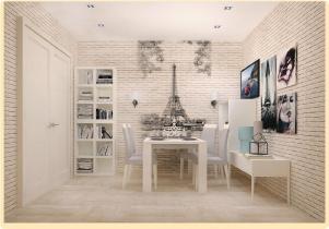 Декоративная панель VENTA Exclusive «Эйфелева башня»